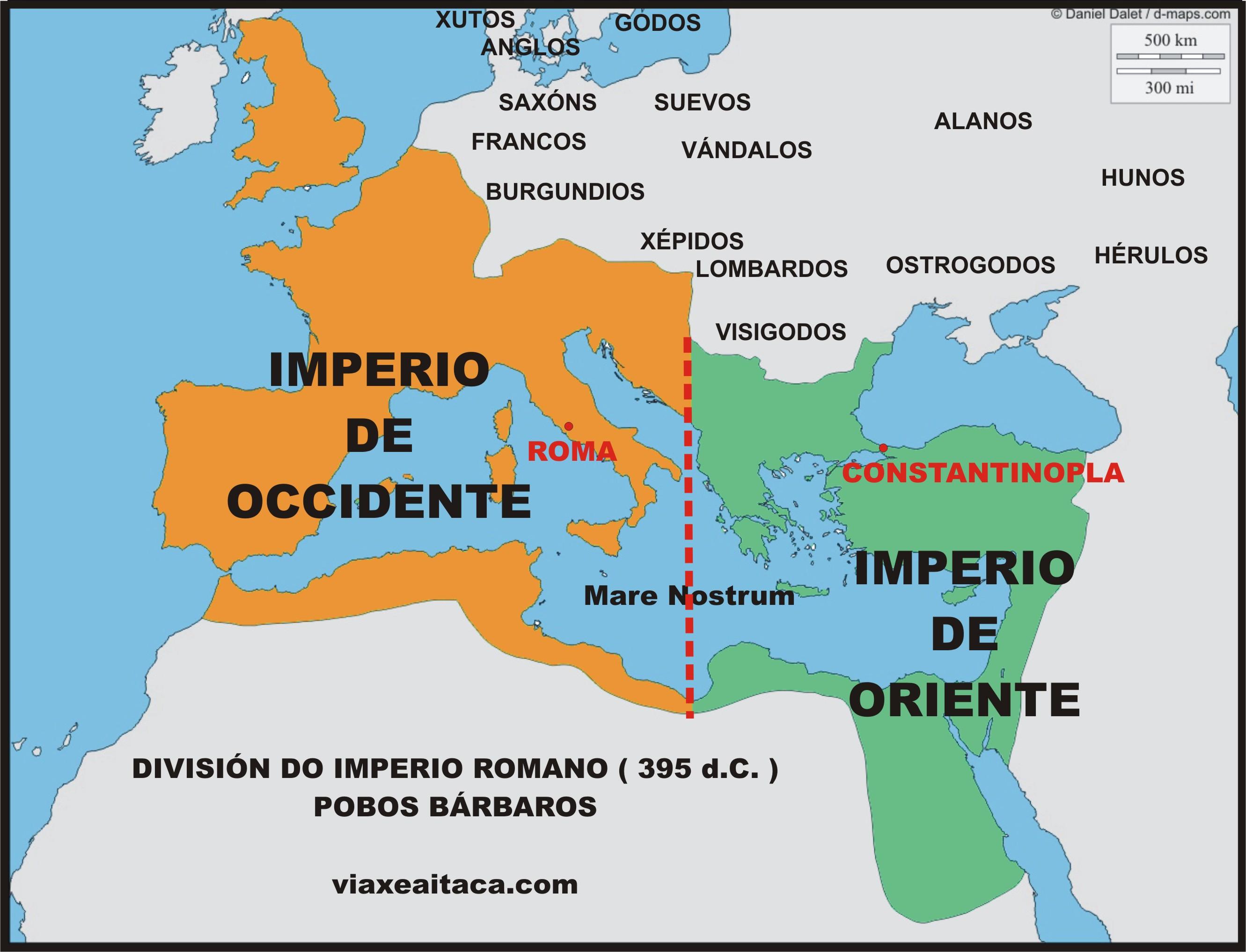 07. Crisis de Roma (división del Imperio)