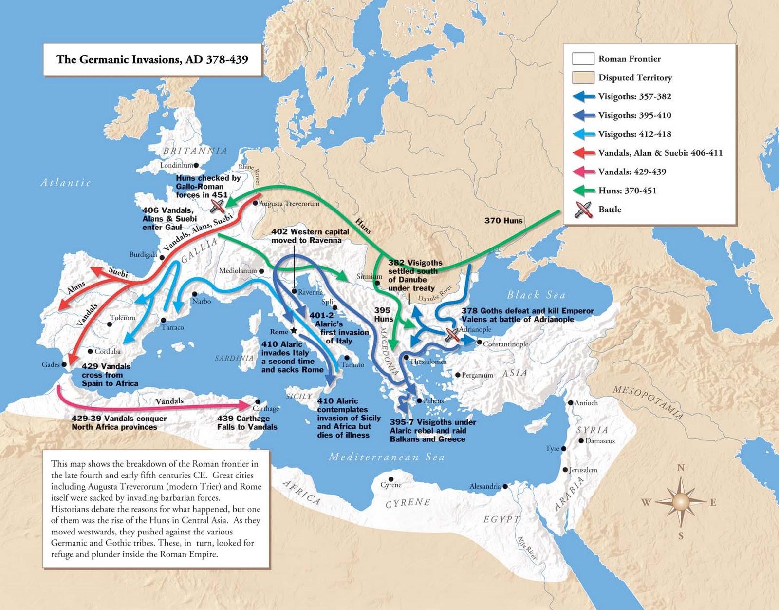 29. Invasiones germanas