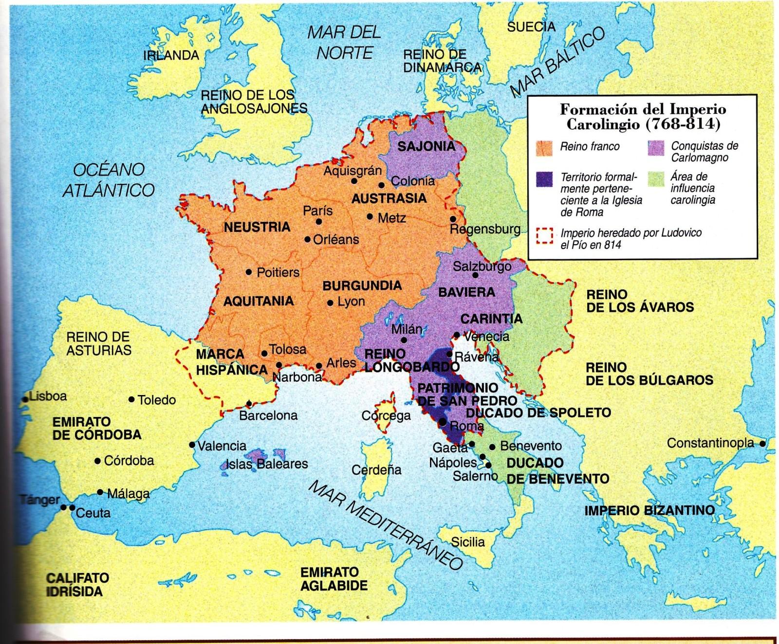 40. Imperio Carolingio