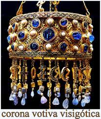 Corona de Recesvinto (Tesoro de Guarrazar - s.VII) 01