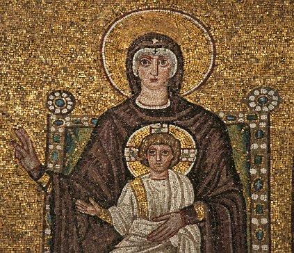 Mosaico bizantino 01